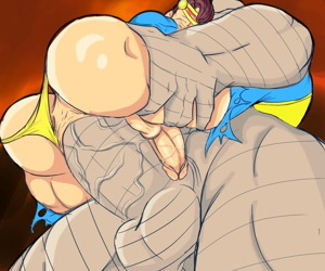 manga Mirov Pack 03, bane , batman , anal , dark skin  double penetration