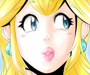 manga Peachy Lips, princess peach , mario  stockings