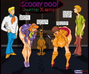manga Jaegerbite- Scooby Doo! Monsters X-Rated, futanari , slut  bigass