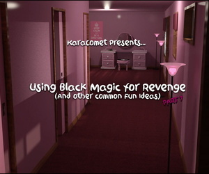 manga Karacomet- Using Black Magic for.., 3d , dark skin  fantasy