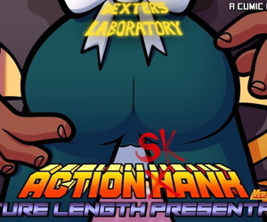manga Action Skank, action hank , dexters mom , dark skin , group  cheating