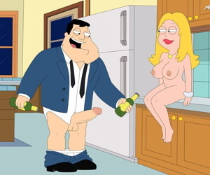 manga American Dad, francine smith , hayley smith , milf  incest