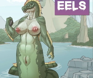 manga Lake of Eels, furry , muscle