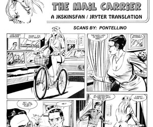 manga Cicciolina - The Mail Carrier threesome