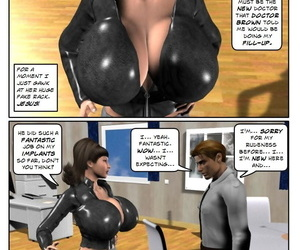 manga StrongAndStacked- Rich Tits, 3d , dark skin